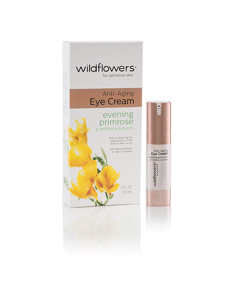 WILDFLOWERS ΚΡΕΜΑ ΜΑΤΙΩΝ ΑΝΤΙΓΗΡΑΝΤΙΚΗ EVENING PRIMROSE & MULBERRY EXTRACTS FOR SENSITIVE SKINS 15ml