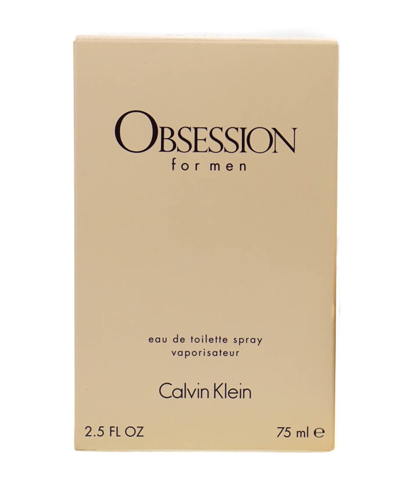 CALVIN KLEIN ΑΝΔΡΙΚΟ ΑΡΩΜΑ OBSESSION EAU DE TOILETTE  75ml