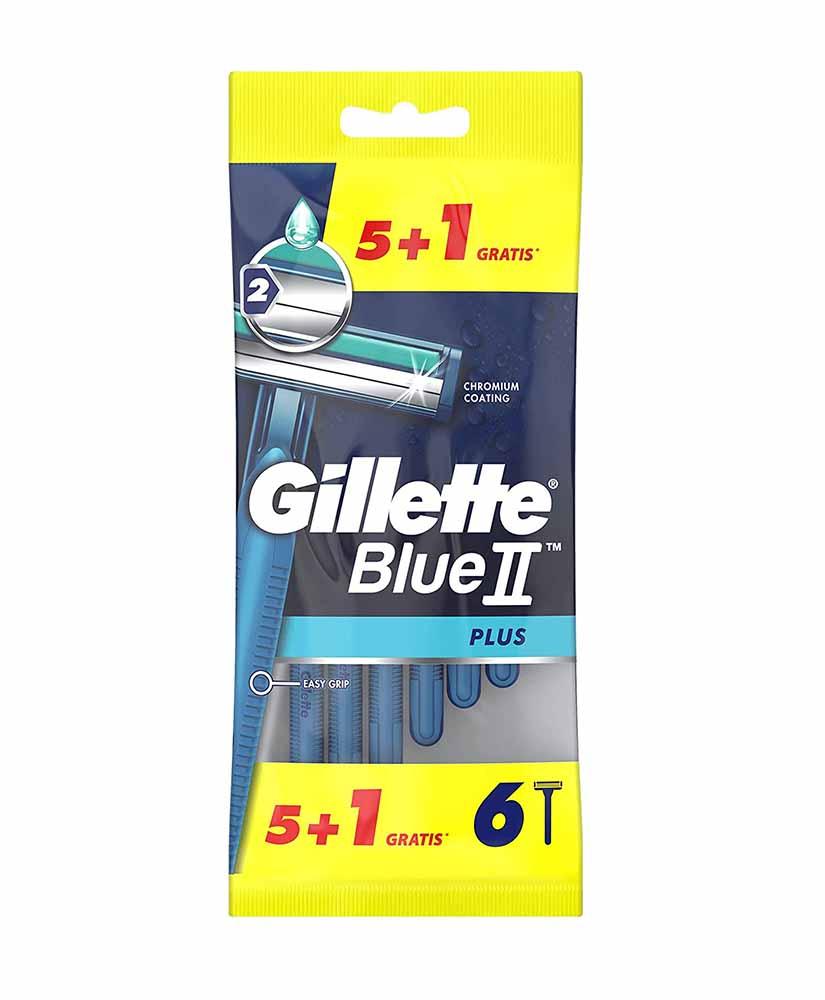 GILLETTE BLUE II ΞΥΡΑΦΑΚΙΑ PLUS 5 ΣΥΝ 1