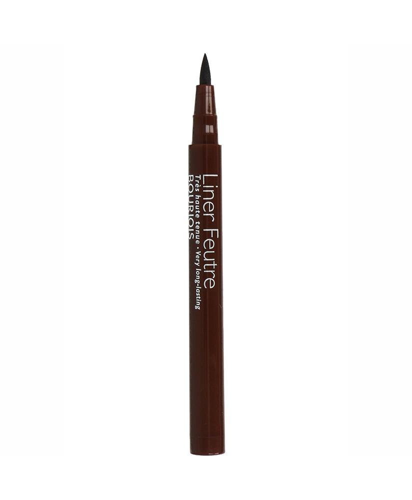 BOURJOIS ΜΟΛΥΒΙ ΦΡΥΔΙΩΝ FELT TIP LONG LASTING EYELINER BLACK BROWN No14 0.8ML