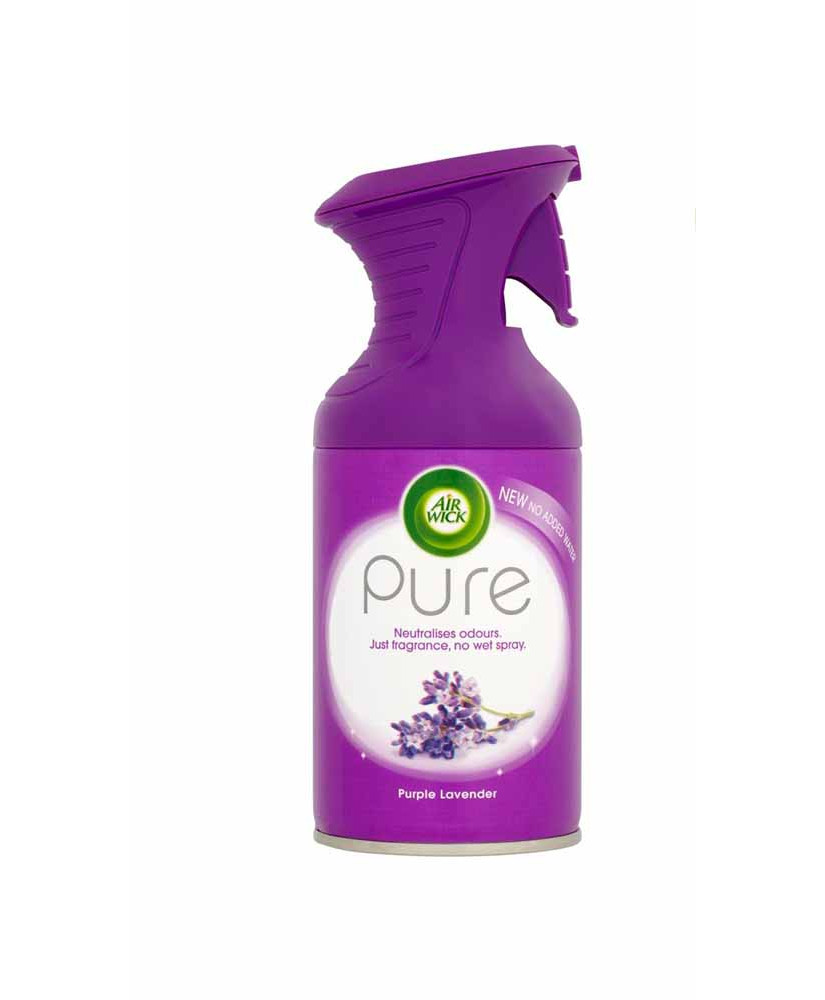 AIR WICK PURE ΑΡΩΜΑΤΙΚΟ ΧΩΡΟΥ PURPLE LAVENDER 250 ML