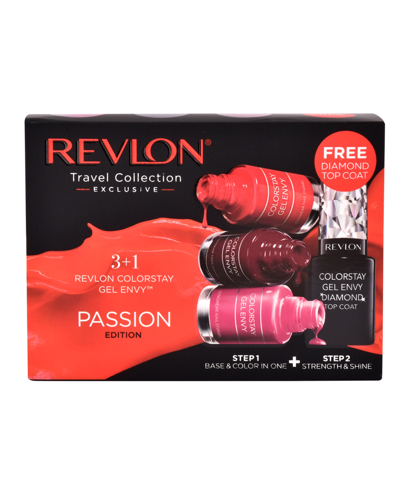 REVLON COLORSTAY GEL ENVY PASSION EDITION ΣΕΤ 3+1