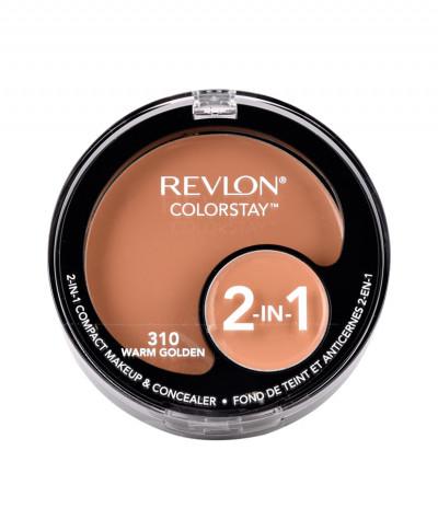 REVLON MAKEUP & CONCEALER COLORSTAY 2-IN-1 COMPACT 310 WARM GOLDEN 11gr