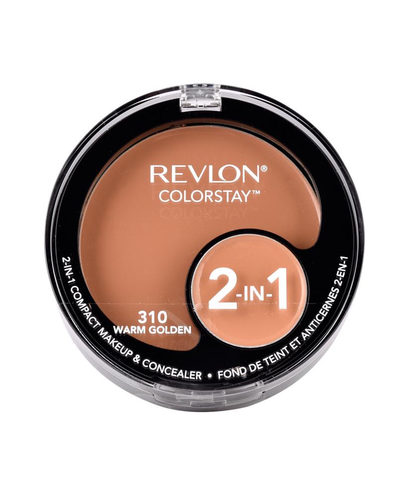 REVLON MAKEUP & CONCEALER COLORSTAY 2-IN-1 COMPACT 310 WARM GOLDEN 11G