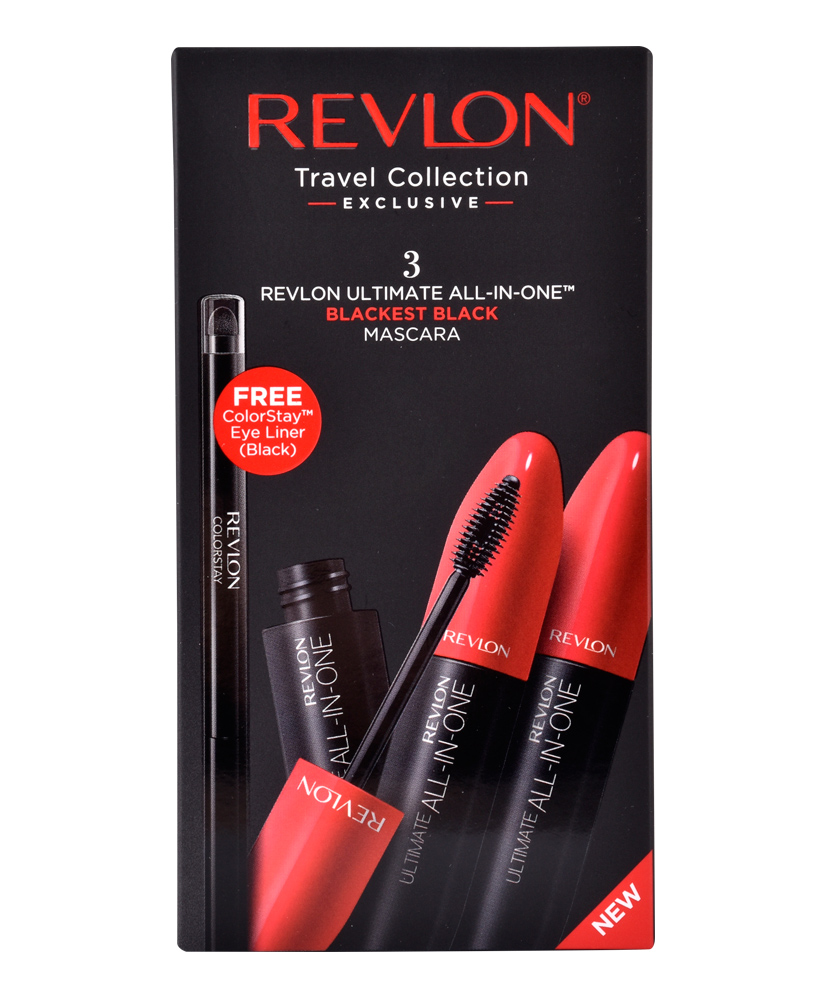REVLON TRAVEL COLLECTION MASCARA ULTIMATE ALL-IN-ONE 3+1 4TMX