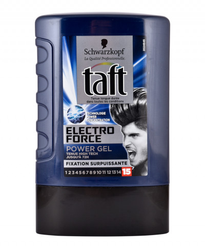TAFT GEL ΜΑΛΛΙΩΝ ELECTRO FORCE No.15 130ML