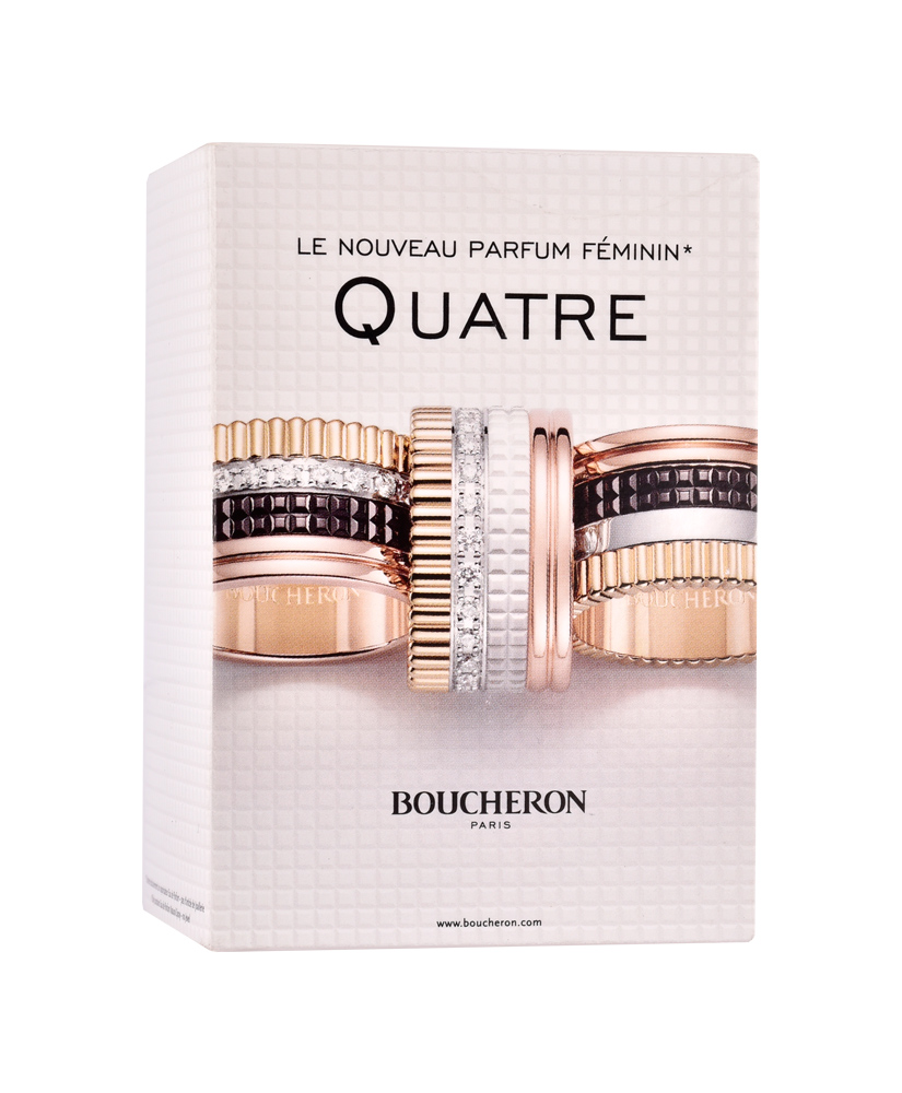BOUCHERON ΑΡΩΜΑ  EAU DE PARFUM QUATRE FOR WOMAN 50ml
