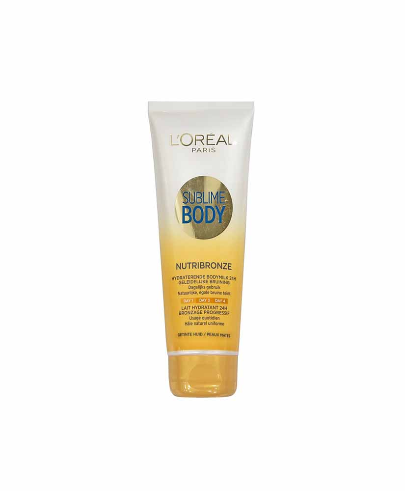 L'OREAL SUBLIME ΓΑΛΑΚΤΩΜΑ ΣΩΜΑΤΟΣ NUTRIBRONZE TINTED SKIN 200ML