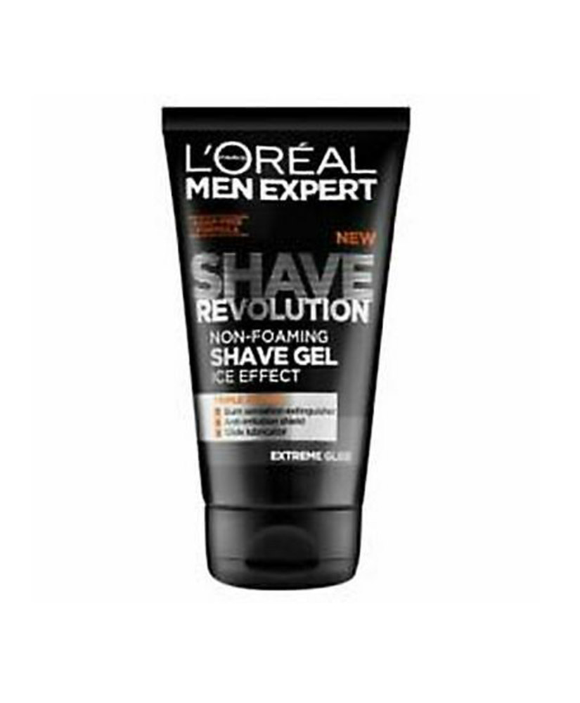LOREAL MEN EXPERT SHAVE REVOLUTION NON FOAMING SHAVE GEL ICE EFFECT 150ML
