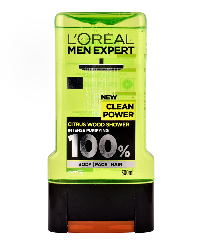 L'OREAL MEN EXPERT ΑΦΡΟΛΟΥΤΡΟ CLEAN POWER 300ML