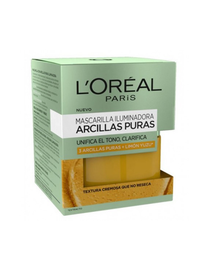 L'OREAL ΜΑΣΚΑ ΠΡΟΣΩΠΟΥ ΦΩΤΕΙΝΟΤΗΤΑΣ  3 PURE CLAYS 50ML