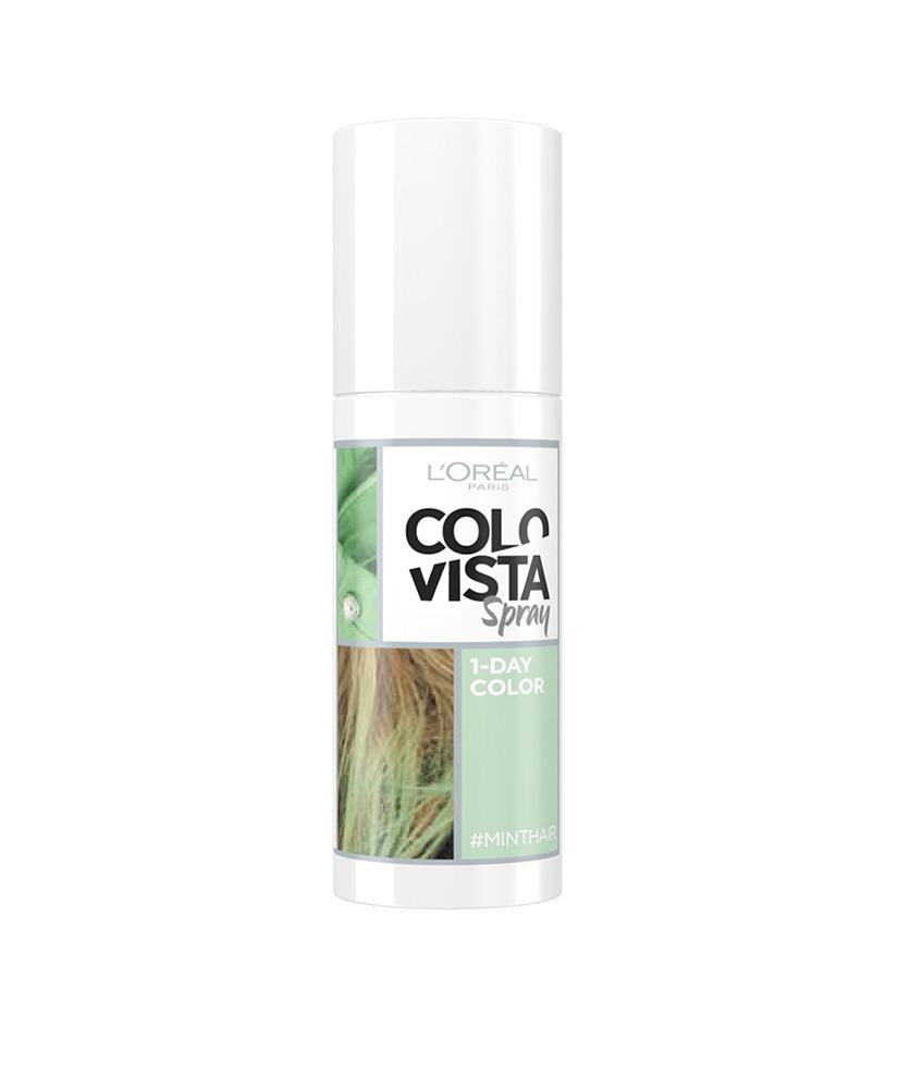 LOREAL COLOVISTA HAIR SPRAY 1-DAY MINTHAIR 75ml