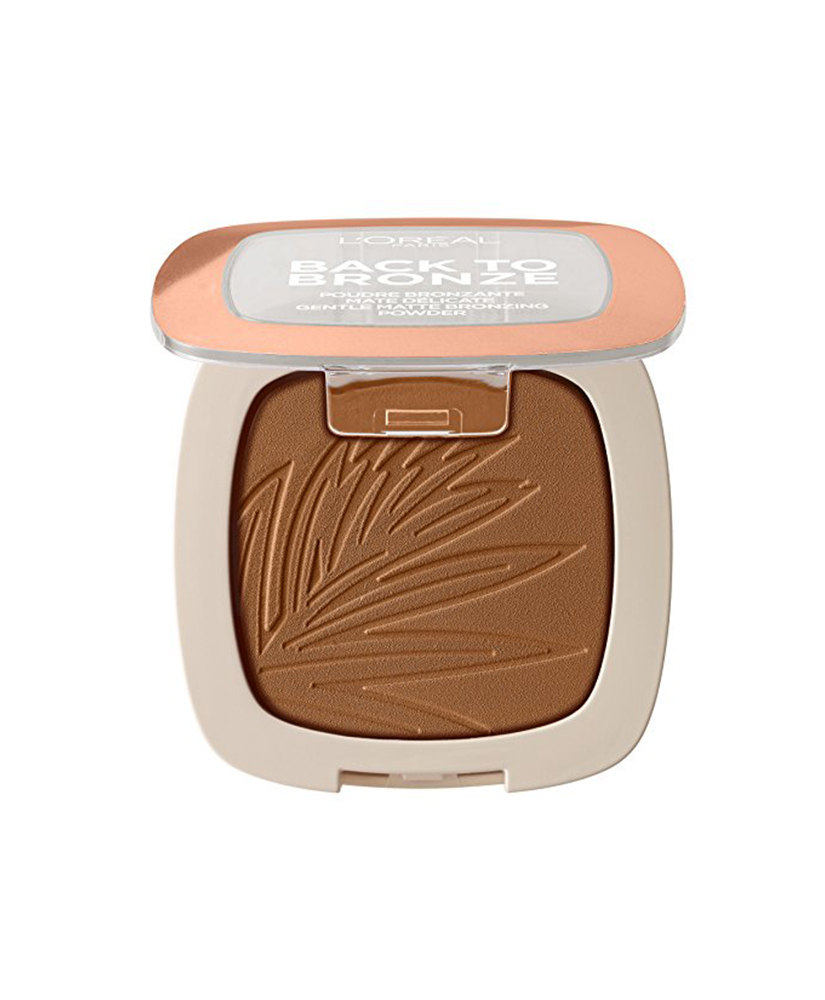 L OREAL BRONZING POWDER MATTE BACK TO BRONZE No2 SUNKISS 9gr