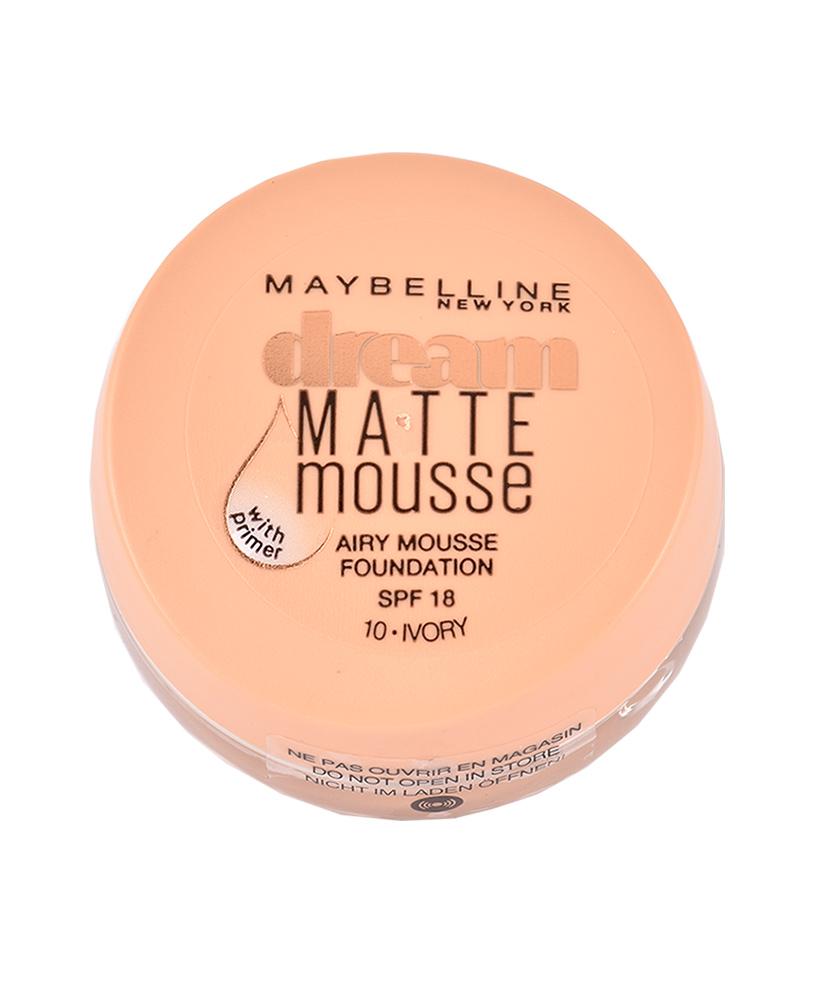 MAYBELLINE MAKE UP DREAM MATTE MOUSSE No 10 IVORY SPF 15, 18ml