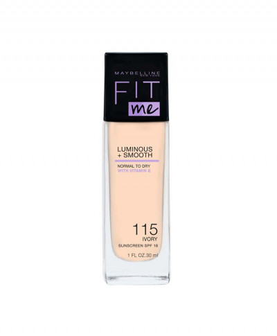 MAYBELLINE MAKE UP FIT ME LUMINOUS AND SMOOTH No 115 IVORY 30ml