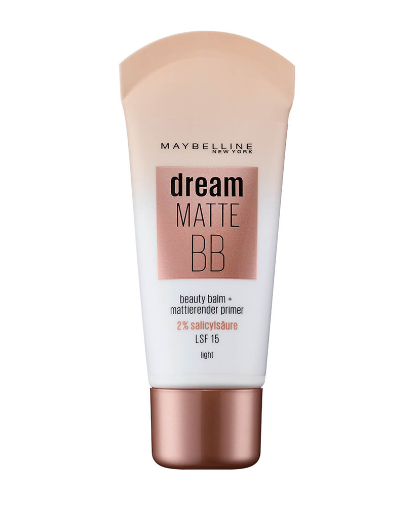 MAYBELLINE  BB ΚΡΕΜΑ ΜΕ ΧΡΩΜΑ DREAM MATTE SPF15 LIGHT, 30 ml