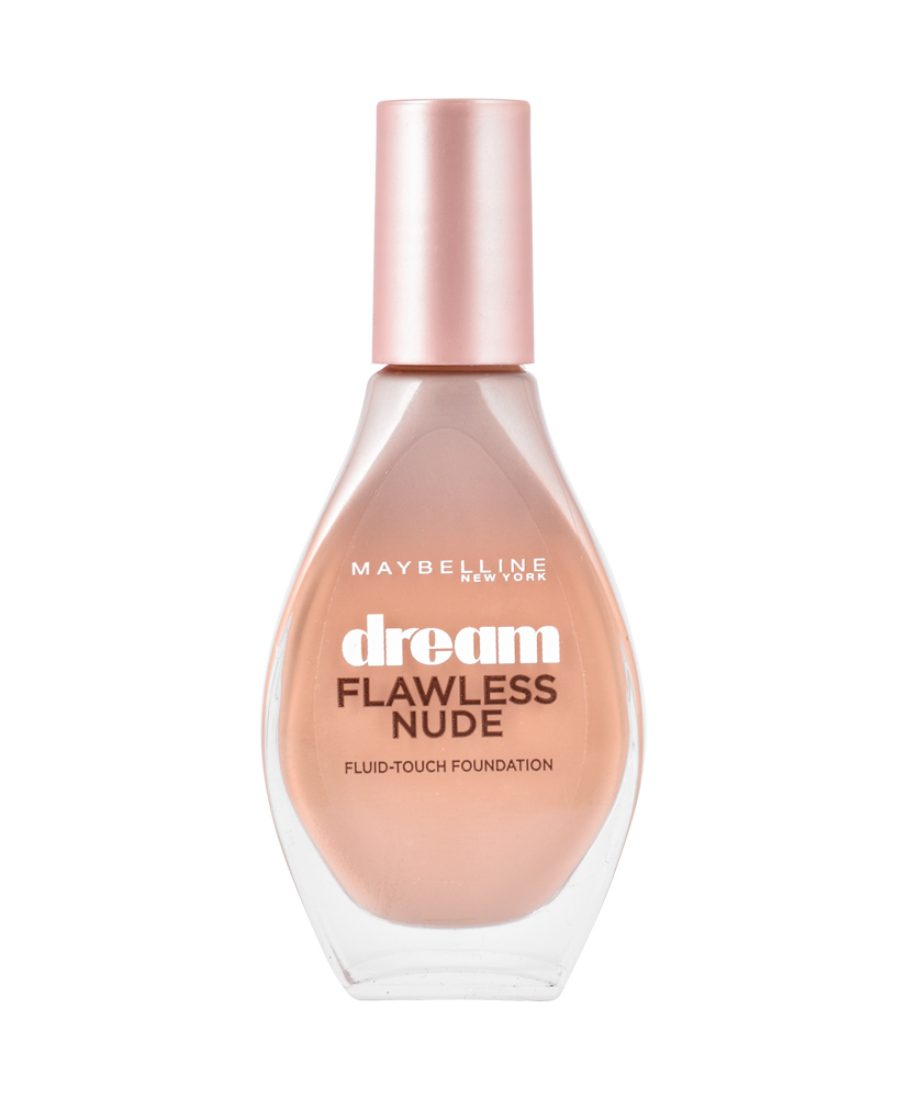 MAYBELLINE FOUNDATION DREAM FLAWLESS NUDE FLUID TOUCH CAMEO No20, 20ml