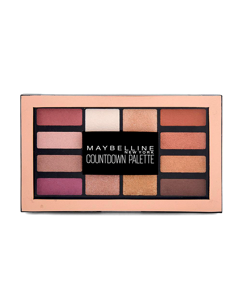 MAYBELLINE COUNTDOWN EYESHADOW PALETTE