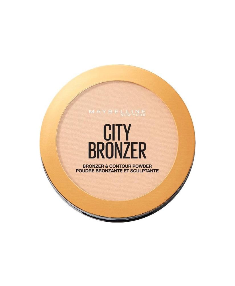MAYBELLINE CITY BRONZER & CONTOUR POWDER No 100 LIGHT COOL 8gr