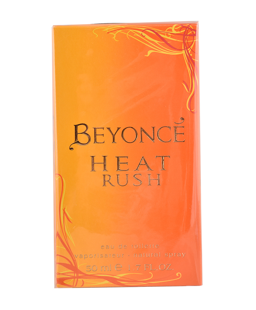 BEYONCE  EAU DE PARFUM HEAT RUSH 50ml