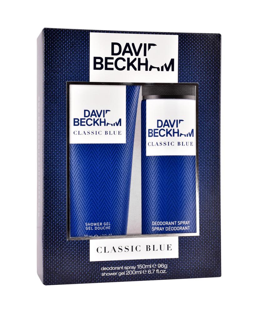DAVID BECKHAM CLASSIC BLUE ΣΕΤ ΔΩΡΟΥ 150&200ML