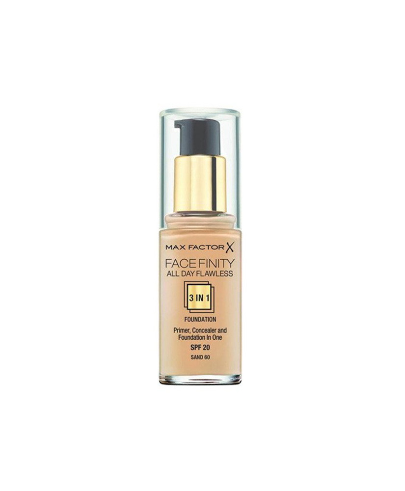 MAX FACTOR FACE FINITY 3in1 FOUNDATION SPF20 SAND 60