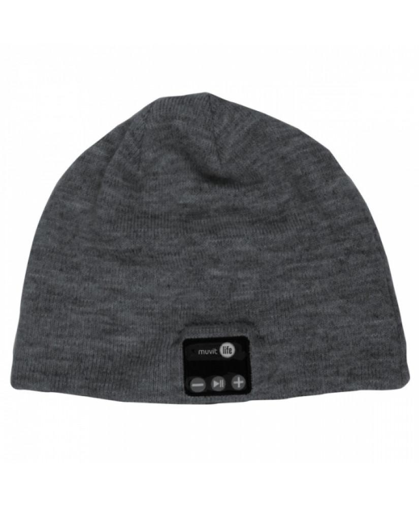MUVIT LIFE BLUETOOTH CAP dark grey
