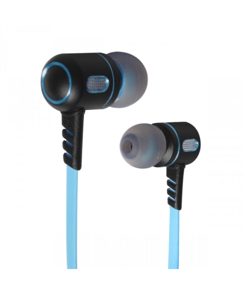 SOG LEGION STEREO EARPHONES MIC JACK 3.5mm PC / PS4 / XBOX ONE  blue