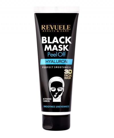 REVUELE BLACK MASK 3D FACIAL HYALURON 80ML