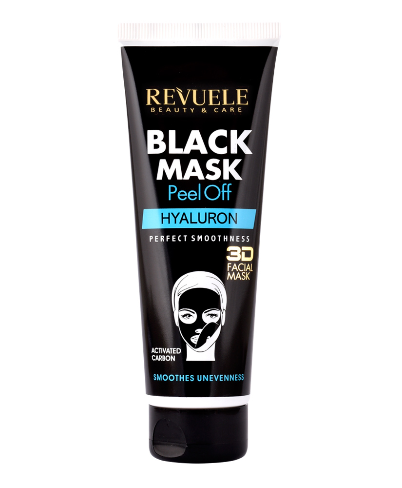 REVUELE BLACK MASK 3D FACIAL HYALURON 80ML