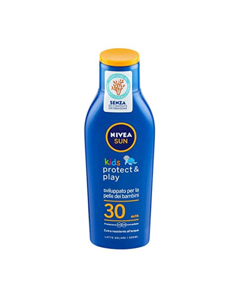 NIVEA SUN KIDS ΑΝΤΗΛΙΑΚΟ ΓΑΛΑΚΤΩΜΑ PROTECT AND PLAY SPF30 200ML