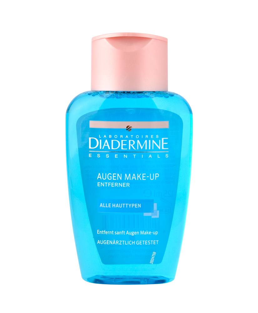 DIADERMINE ESSENTIALS EYE MAKE-UP REMOVER 125ML