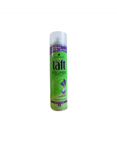 TAFT ΛΑΚ ΜΑΛΛΙΩΝ VOLUME EXTRA STRONG HOLD 3 COLLAGEN FORMULA 400ml