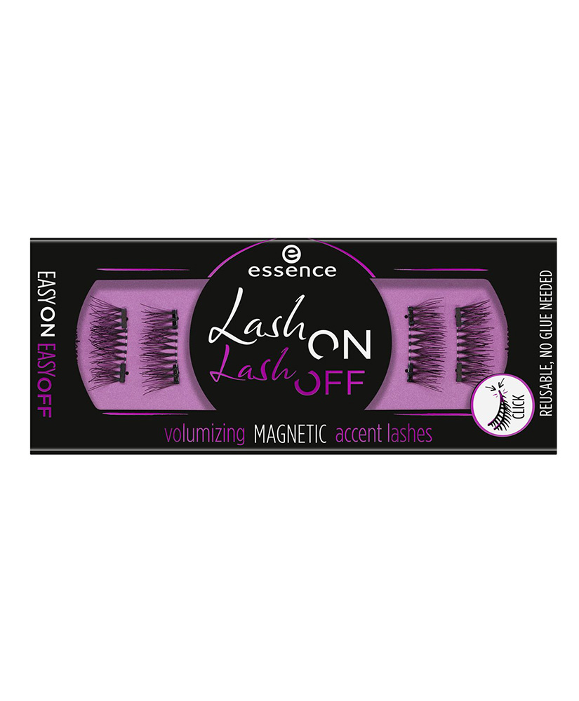 ESSENCE ΨΕΥΤΙΚΕΣ ΒΛΕΦΑΡΙΔΕΣ LASH ON LASH OFF VOLUMIZING MAGNETIC 01