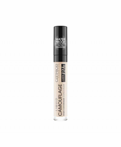 CATRICE LIQUID CAMOUFLAGE HIGH COVERAGE CONCEALER FAIR IVORY N001 5ml
