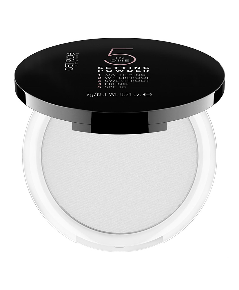 CATRICE ΔΙΑΦΑΝΗ ΠΟΥΔΡΑ SETTING POWDER 5 IN 1, 9GR