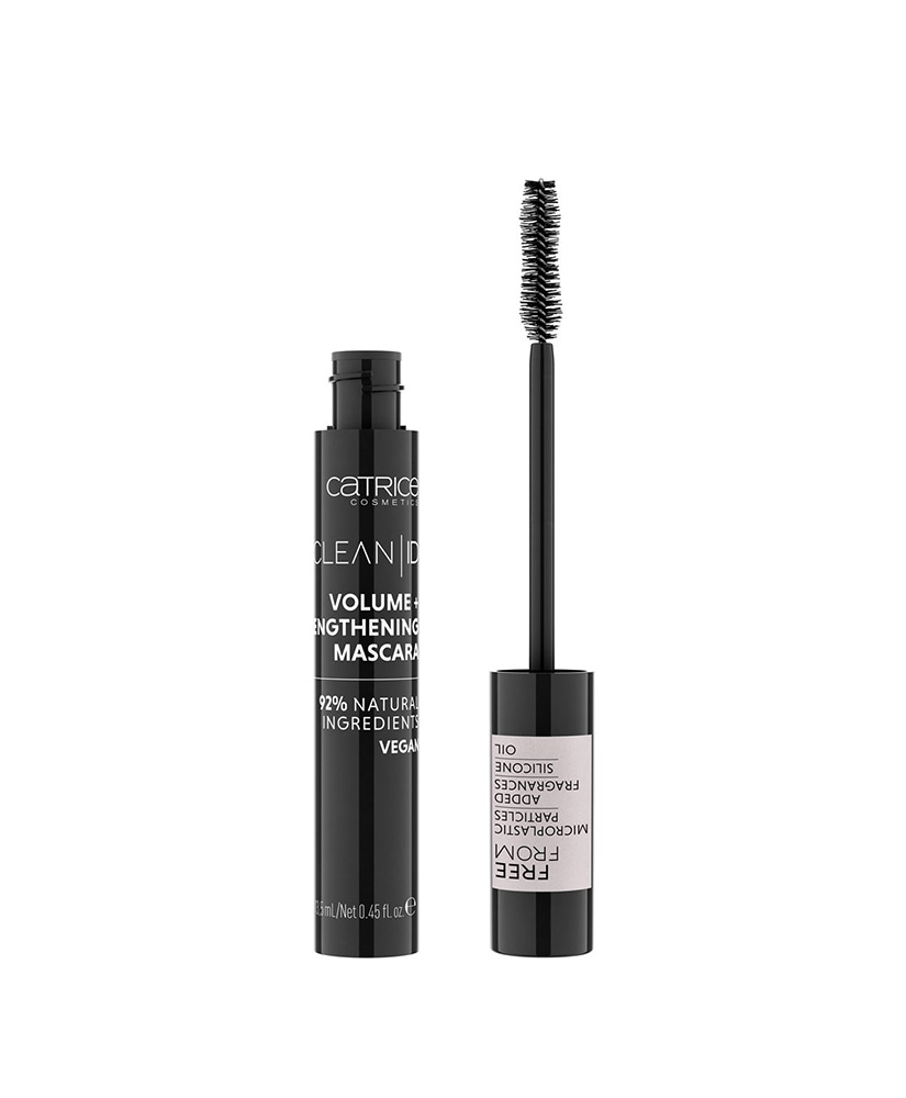CATRICE ΜΑΣΚΑΡΑ CLEAN ID VOLUME+ LENGTHENING TRULY BLACK 13,5ML