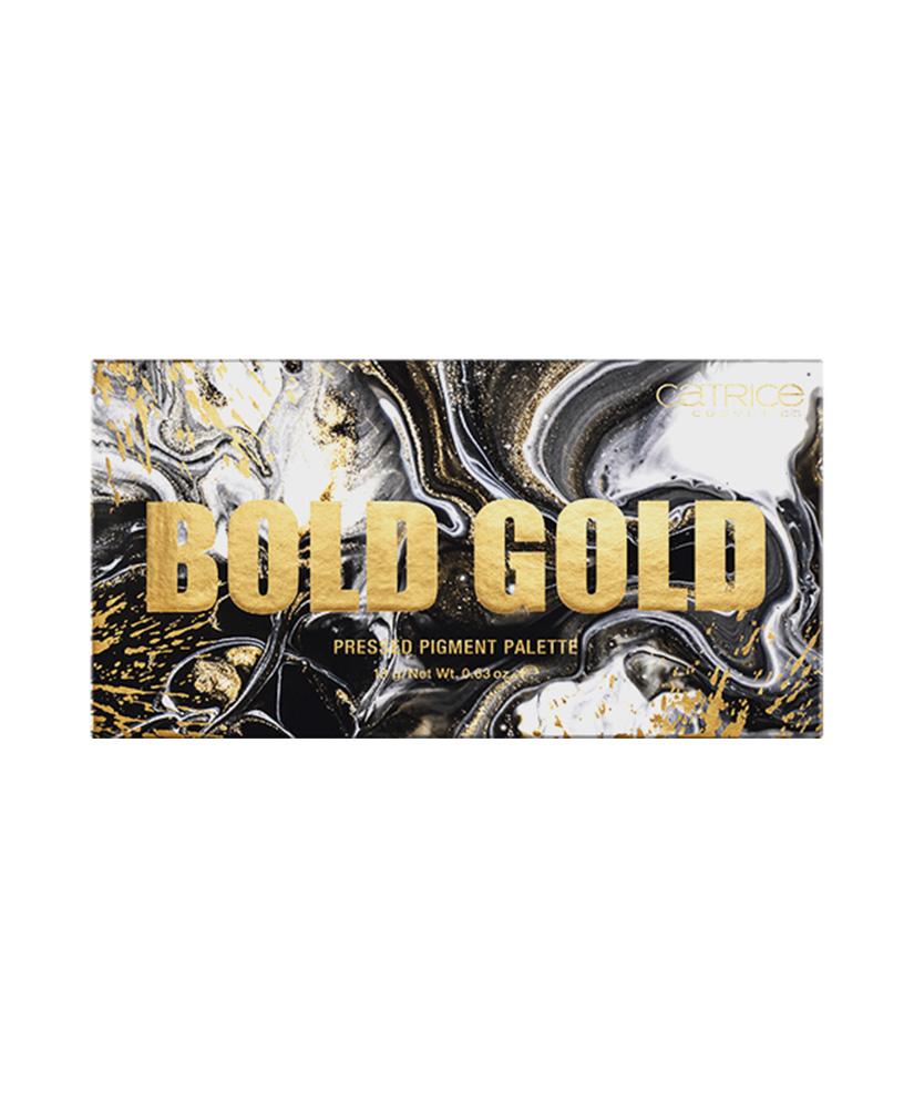 CATRICE  ΠΑΛΕΤΑ ΣΚΙΩΝ BOLD GOLD PRESSED PIGMENT 18GR