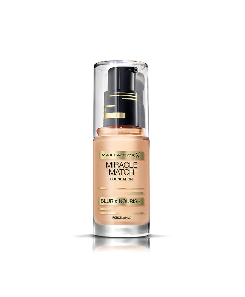 MAX FACTOR FOUNDATION  MIRACLE MATCH No 30 PORCELAIN 30ml