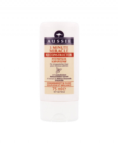 AUSSIE ΘΕΡΑΠΕΙΑ ΜΑΛΛΙΩΝ 3 ΛΕΠΤΩΝ MIRACLE RECONSTRUCTOR 75ml