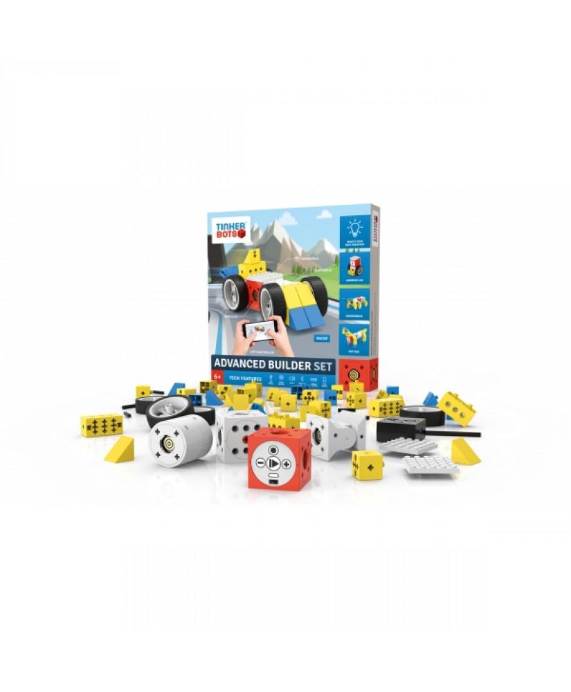 TINKERBOTS ADVANCED BUILDER EDUCATIONAL ROBOT KIT (BXTIAD)