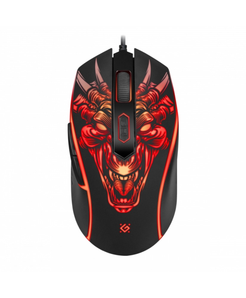 DEFENDER 510L MONSTRO WIRED GAMING 6D OPTICAL MOUSE