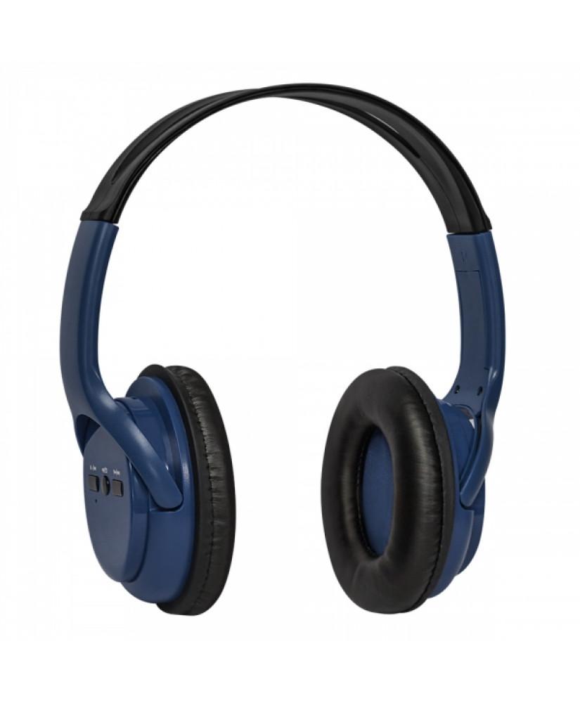 DEFENDER WIRELESS STEREO BLUETOOTH HEADPHONES FREEMOTION B520 black blue