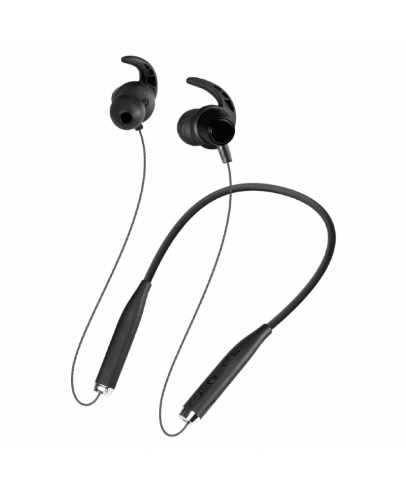 DEFENDER STEREO BLUETOOTH NECKBAND HANDSFREE OUTFIT B730 black