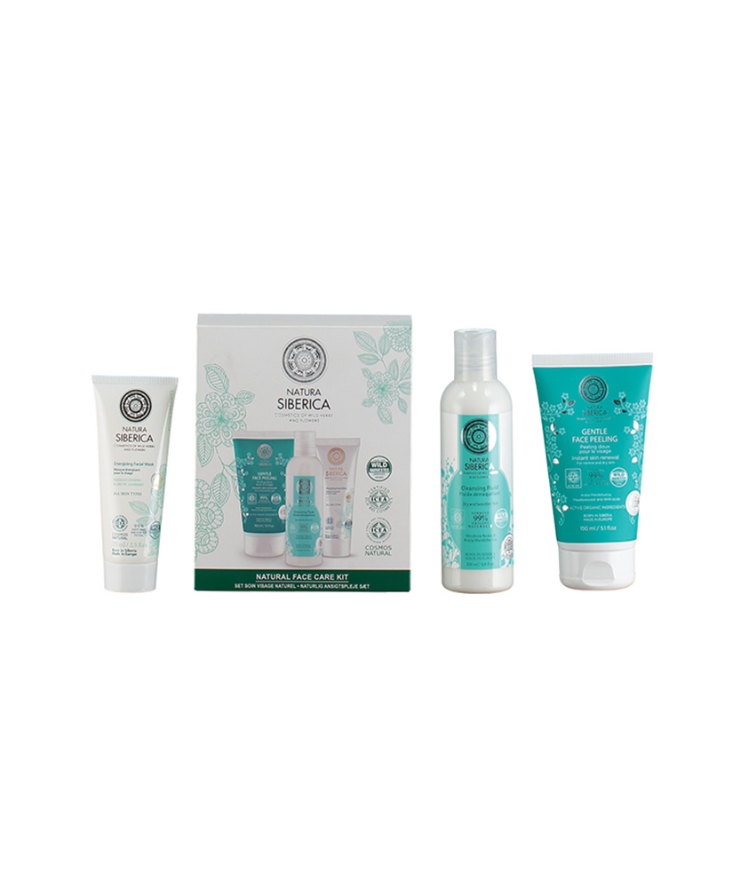 NATURA SIBERICA FACE CARE  SET NATURAL