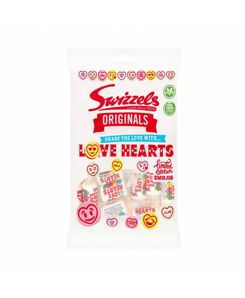 SWIZZELS ΚΑΡΑΜΕΛΕΣ LOVE HEARTS 170gr