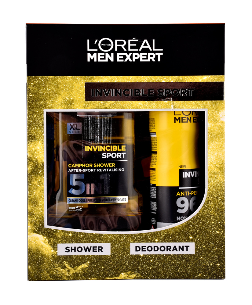 L'OREAL MEN EXPERT INVINCIBLE SPORT ΣΕΤ ΔΩΡΟΥ