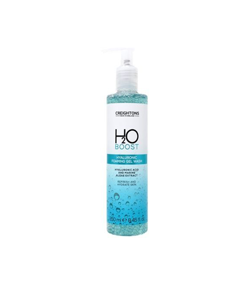 CREIGHTONS H2O HYALURONIC FOAMING GEL WASH ΚΑΘΑΡΙΣΜΟΥ ΠΡΟΣΩΠΟΥ 250ml