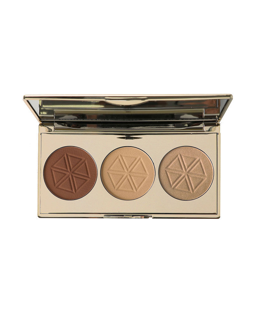 BODY COLLECTION ΠΑΛΕΤΑ CONTOURING & HIGHLIGHTER ENGLAND SCULPT TRIO 7,5gr