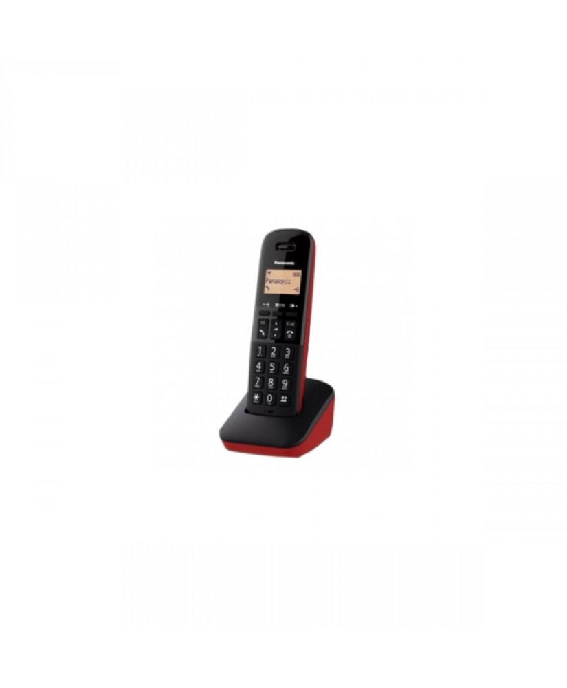 ΑΣΥΡΜΑΤΟ ΤΗΛΕΦΩΝΟ PANASONIC TGB610 black red